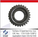 III Speed Gear & Syn. Core 1701330-108F2
